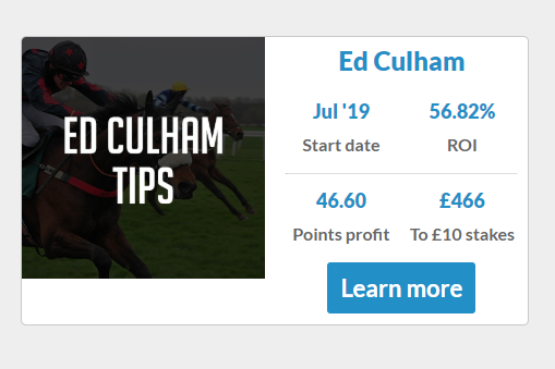 Ed Culham's Tipsters Empire Ptofile